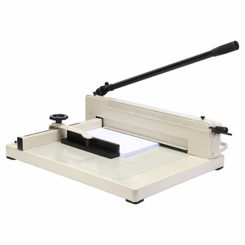 guillotina cortadora de papel 31cm. corta hasta 400 hojas.