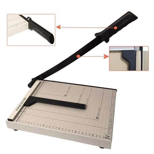 guillotina cortadora de papel manual a4 30cm 12plgs
