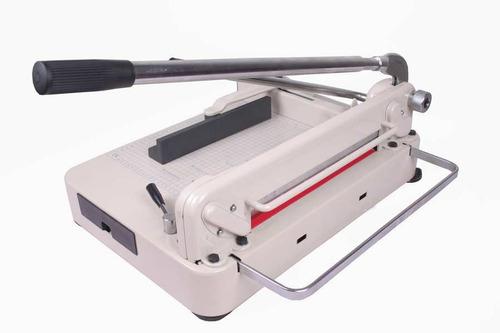 guillotina cortadora papel 17in la mas robusta pison palanca