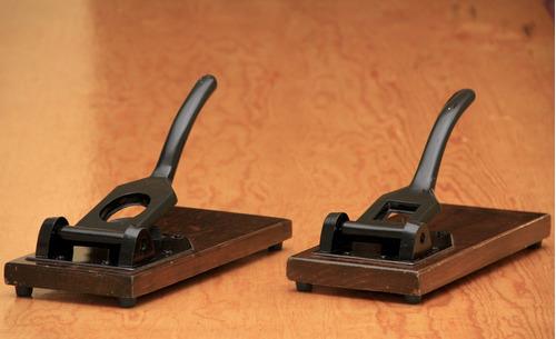 guillotina de fotos: infantil, credencial óvalo o cartilla