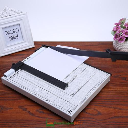 guillotina manual cortadora de papel b4 tipo cizalla 38cm