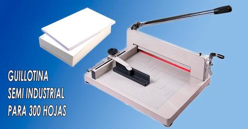 guillotina manual para 300 hojas tam. a4
