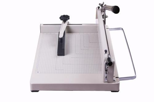 guillotina manual para