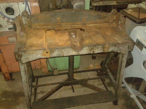 guillotina mec.para chapa esteban pino 900x2mm c/prensachapa