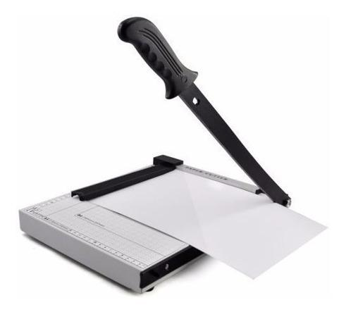 guillotina metalica 25 x 29 cm cuchilla autoafilable 12 hoja