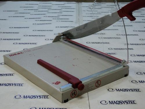 guillotina original alemana ideal 1134