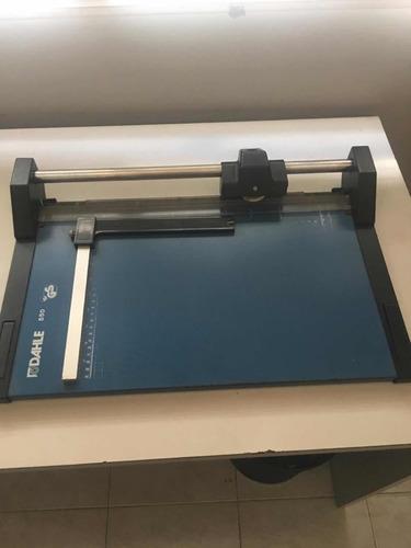guillotina original marca dahle  550 usada perfecto estado