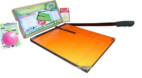guillotina papel cizalla de palanca 40x45cm exoficio +obsequ