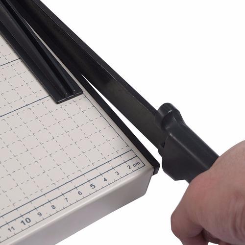 guillotina papel metálica  de 45 cm x 38 cm envio gratis