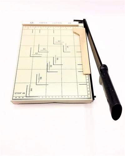 guillotina para cortar papel carta
