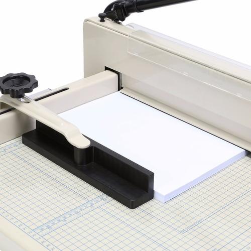 guillotina profesional cortadora de papel 43cm corta400hojas