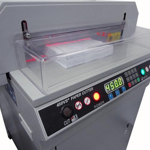guillotina rafer eléctrica 450vs plus a3 control digital pro