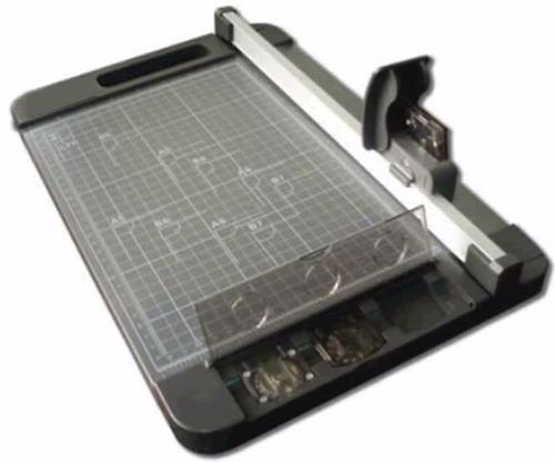 guillotina rodaja 32cms semi-industrial 3 cuchillas obsequio