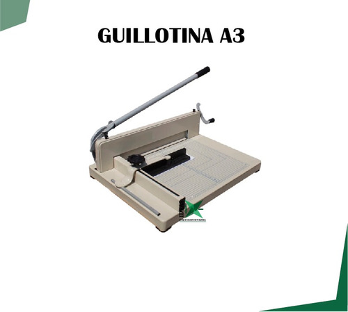 guillotina semi industrial a3