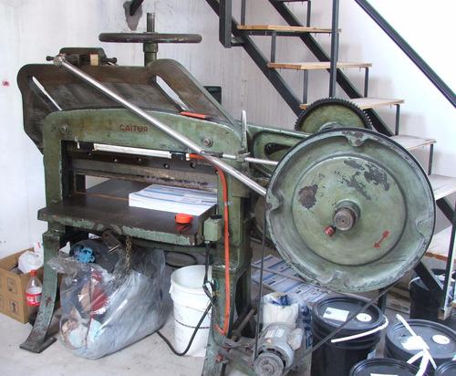 guillotina semiautomatica 82