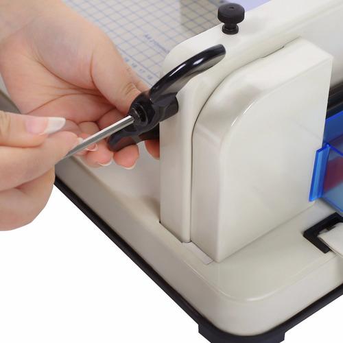 guillotina uso rudo cortadora de papel 31cm corta 400 hojas