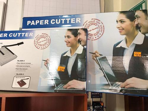 guillotinas cortadoras papel fomix cartón a3 a4 loschillos