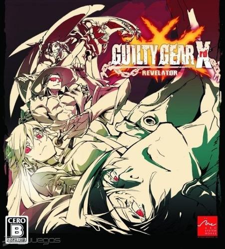 guilty gear xrd revelator ps3 original - play perú