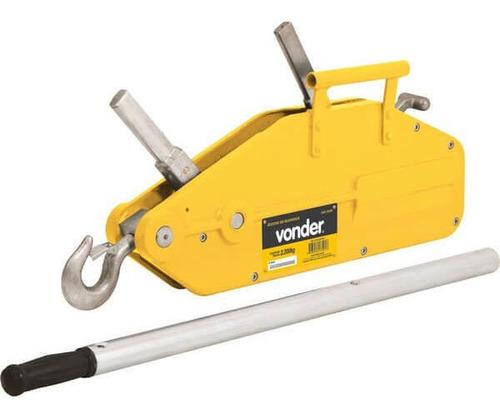 guincho de alavanca manual capacidade 3.200 kg - gav 3200 -
