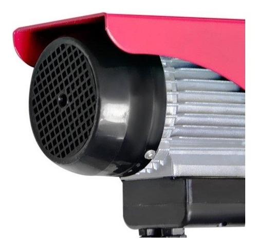 guincho de coluna elétrico de 100/ 200 kg 2/3hp 220v motomil