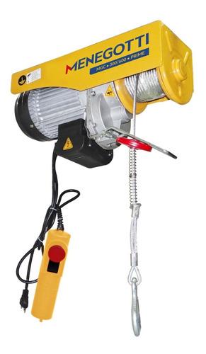 guincho elétrico de coluna 300/600kg 127v para uso continuo