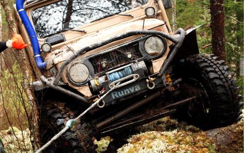 guincho eletrico dsr 12v 3500lbs 1600kg p/jipes jeep atv!!