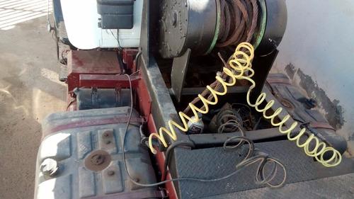 guincho lança com quinta roda mb 1932 redutor d4.
