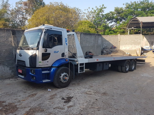 guincho plataforma 10.50 mts ford cargo 1517 2012