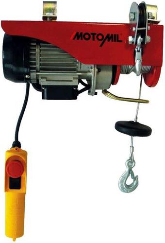 guincho talha eletrico coluna 100/200kg ha-101 110v motomil