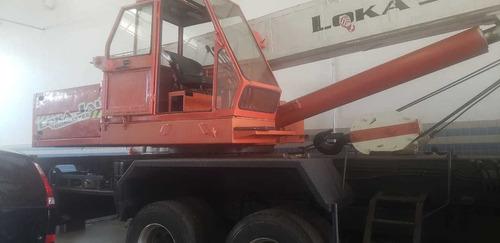 guindaste 30 ton madal md 30 com caminhão volvo nl 360