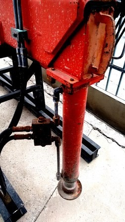 guindaste facchini f10s vermelho 10 ton -  2008