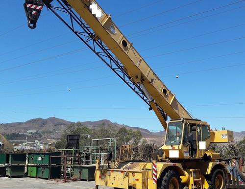 guindaste grove rt530e-2 capacidade 22 toneladas - 1998
