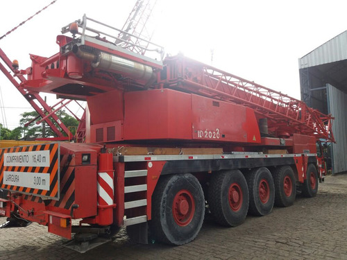 guindaste liebherr ltm1220 ano 2005 capac. 220 ton.