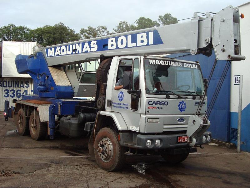guindaste lorain capacidade 20 ton, caminhão ford 2622