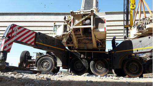 guindaste marca terex ac500 cap 500 tons