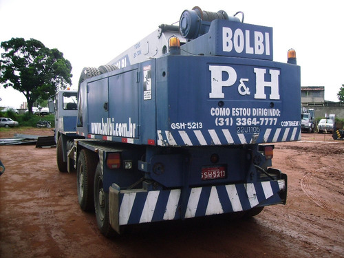 guindaste p&h capacidade 20 ton, modelo t200
