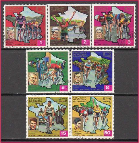guiné equatorial - tour de france - 72 - s/completa