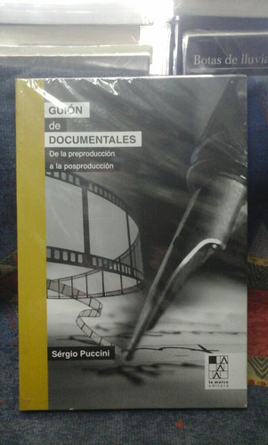 guion de documentales. sergio puccini