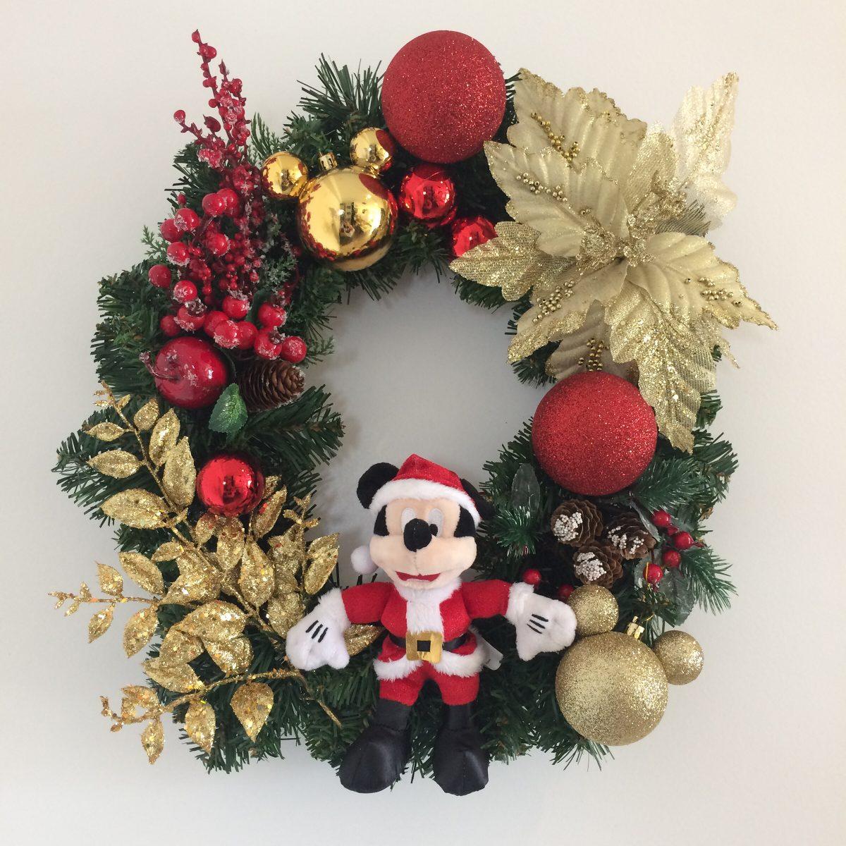 Guirlanda Natal Disney Mickey Mouse - R$ 299,00 em Mercado ...