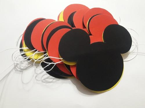 guirnalda/ banderin mickey mouse