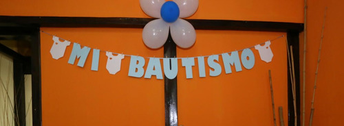 guirnalda banderines baby shower cumple bautismo o deco
