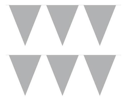guirnalda banderines gris - jupiter party