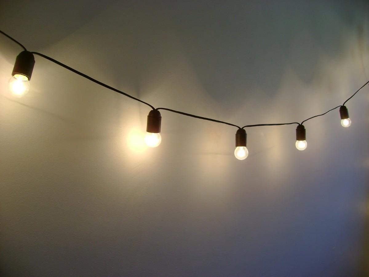 Guirnalda Con Luces Led Interior Exterior - $ 200,00 en Mercado Libre