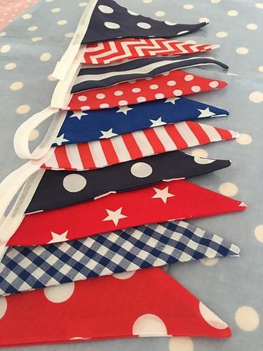 guirnalda de banderines terminación en punta