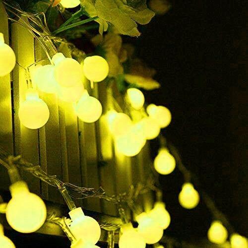 guirnalda  de luces, ambiente romantico, ceremonias y cenas