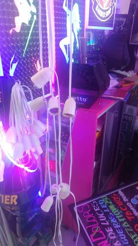guirnalda de luces bombillas led x 12mt  decoración eventos