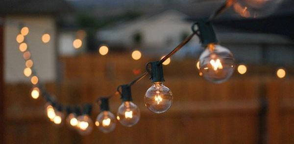 guirnalda de luces retro zona norte y capital federal - Guirnaldas De Luces