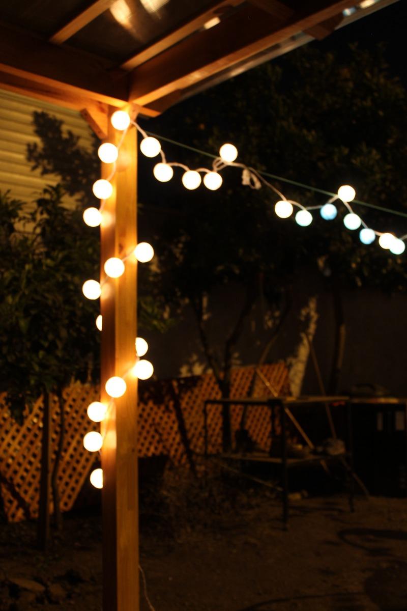 Guirnalda de luces tonos azul celeste y blanco - Guirnaldas de luces ...