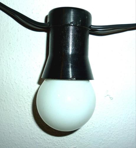guirnalda de luces x 10 m interior/exterior cálidas oferta!