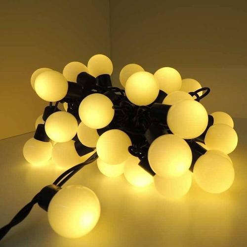 guirnalda exterior 7 mt 18 lamparas calido interconectable